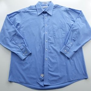 Pierre Cardin Mens Blue Shirt Size XL